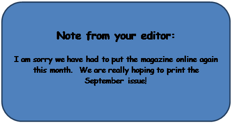 Rounded Rectangle: Note from your editor: